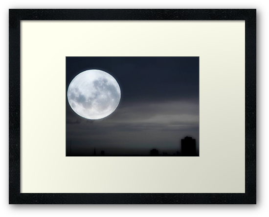 Silvery Moon ©  by Dawn M. Becker