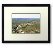Miles and miles - Kakadu Framed Print