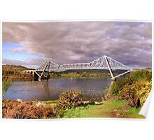 Connel Bridge, Argyll. Springtime Poster