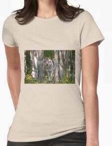 Timber wolf in Forest T-Shirt