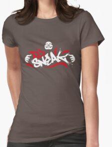 Dj Sneak House Gangster Womens Fitted T-Shirt