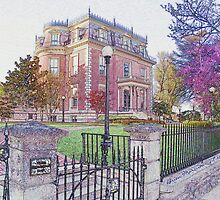 Governor's Mansion, Jefferson City, Missouri by Brion Marcum