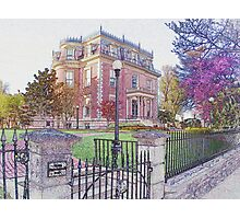 Governor's Mansion, Jefferson City, Missouri Photographic Print