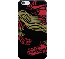 Japanese Inspired Waves and Sound Waves iPhone Case/Skin
