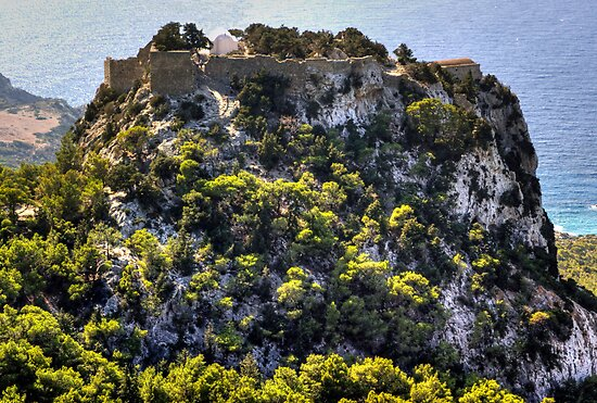 Monolithos Castle by Tom Gomez