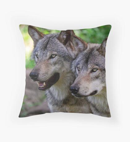 Forest Guardians  Throw Pillow