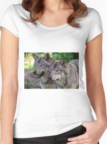 Forest Guardians  Women's Fitted Scoop T-Shirt