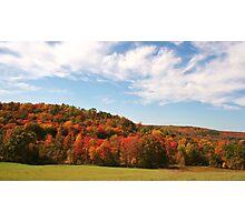 The Hills Around Punxsutawney Photographic Print