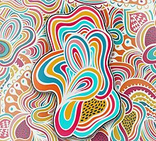 Doodling abstracts by NadineMay