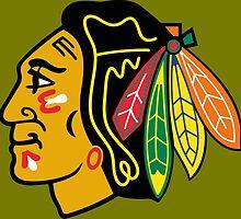 CHICAGO BLACKHAWKS LOGO by imgarry