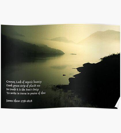 Loch Creran, a poet's dream Poster