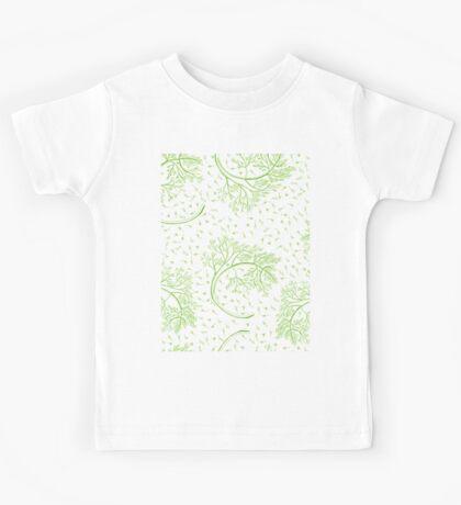 Green dill hand drawn illustration  Kids Tee