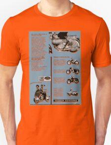 Jawa Advert (1960's) T-Shirt