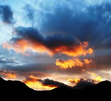 Snowdonia at Sunset by JunMoore