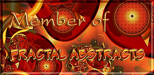 Fractal Abstracts Member Banner by rocamiadesign