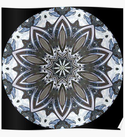 Chrome Kaleidoscope 01 Poster