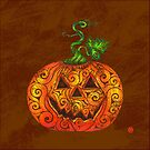 Swirly Pumpkin by . VectorInk