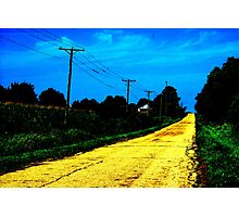 I don't think we're in Kansas any more.  Photographic Print
