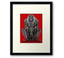 BITTER and SWEET as TRICK and TREAT ! Framed Print