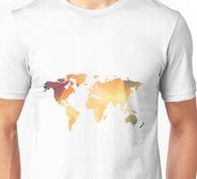 Geometric World Map  Unisex T-Shirt