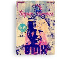 Superheroes of BMX Canvas Print