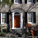 Beautiful House on Meeting Street in Charleston by Susanne Van Hulst