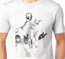 Philp Larkin Dances With Death Unisex T-Shirt