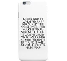 Game of Thrones - Tyrion Quote iPhone Case/Skin