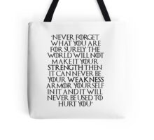 Game of Thrones - Tyrion Quote Tote Bag