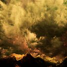Cascades - Washington with clouds courtesy of Rinaldo Di Battista by Jeff Burgess
