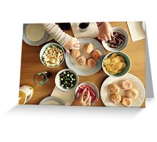 Feast with Friends Greeting Card