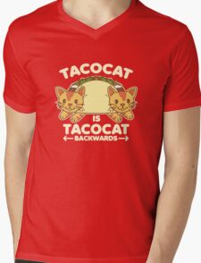 Tacocat Mens V-Neck T-Shirt