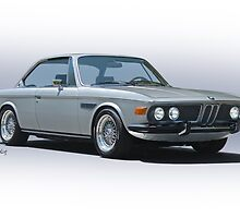 1973 BMW 3.0 CSL 'Studio' I by DaveKoontz