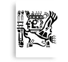 Inca Warrior Canvas Print