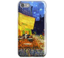 Cafe Terrace at Night - Van Gogh iPhone Case/Skin