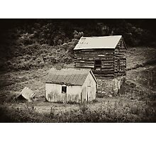 Cabin & Toolshed Photographic Print