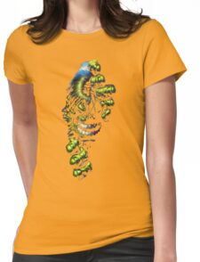Coming through  Womens Fitted T-Shirt