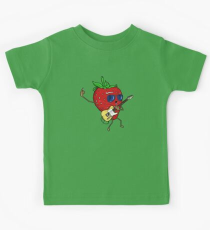 Strawberry Jam, T-style Kids Tee