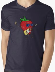 Strawberry Jam, T-style Mens V-Neck T-Shirt