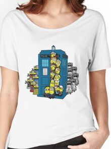 Behind You Doc Minion Women's Relaxed Fit T-Shirt