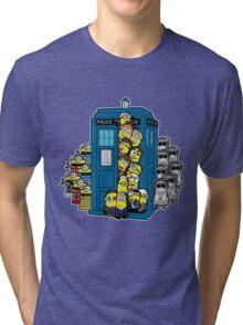 Behind You Doc Minion Tri-blend T-Shirt