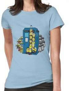 Behind You Doc Minion Womens Fitted T-Shirt