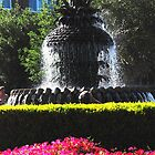 Pineapple Fountain in Charlestons Waterfront Park by Susanne Van Hulst