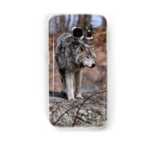 Timber Wolves on Rocks Samsung Galaxy Case/Skin