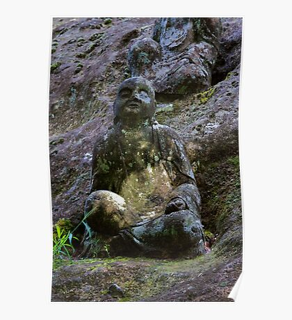 Stone Buddha 04 Poster