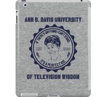 University of Television Wisdom iPad Case/Skin