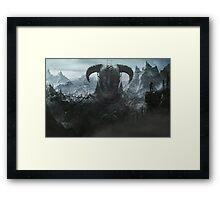 Skyrim - Nord Framed Print