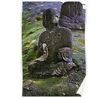 Stone Buddha 07 Poster