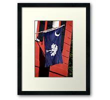 South Carolina State Flag Framed Print