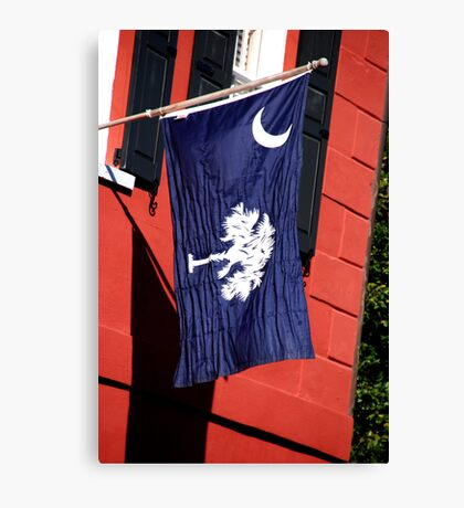 South Carolina State Flag Canvas Print
